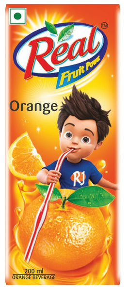 Real Fruit Power, Orange, 200ml