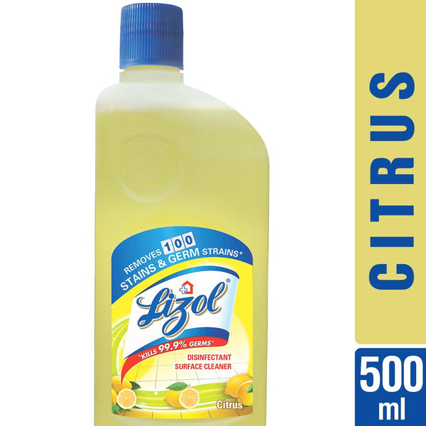 Lizol Disinfectant Floor Cleaner Citrus - 500 ml