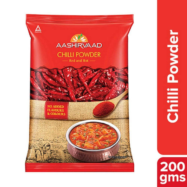 Aashirvaad Chilli Power, Pouch, 200g