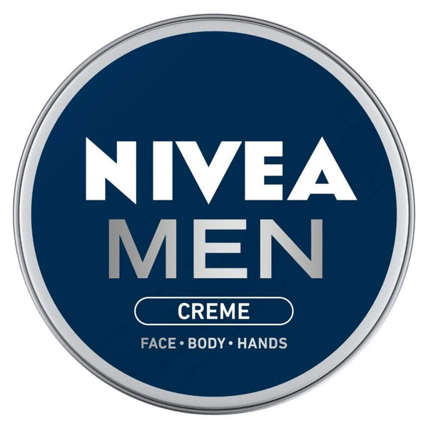 NIVEA Men Crème, Non Greasy Moisturizer, Cream for Face, Body & Hands, 75 ml