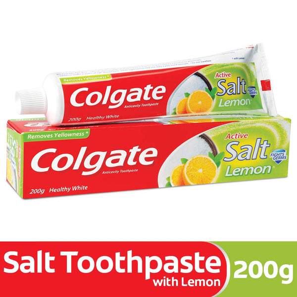 Colgate Active Salt Lemon Toothpaste, 200g