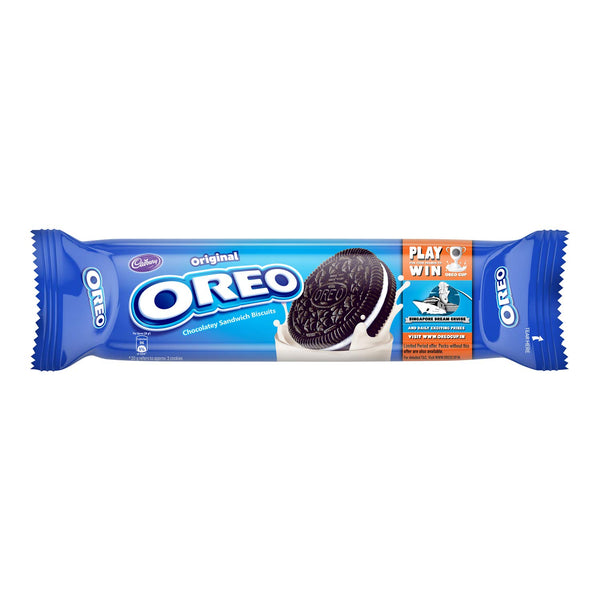 Cadbury Oreo Original Chocolatey Sandwich Biscuit, 120g