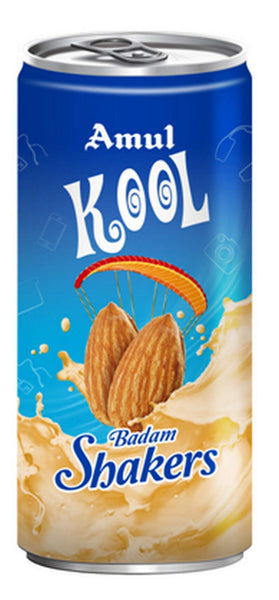 Amul Kool Badam, 200ml Pet Bottle