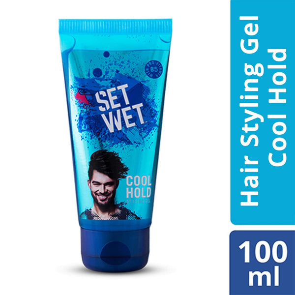 Set Wet Hair Gel Cool Hold (100ml Tube)