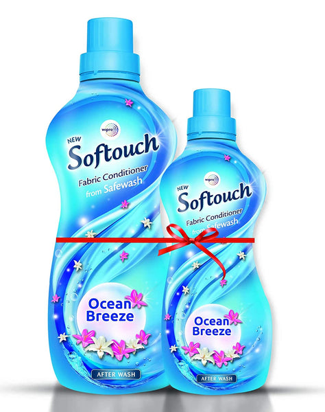 Softouch Fabric Conditioner Ocean Breeze, 860 ml+200ml
