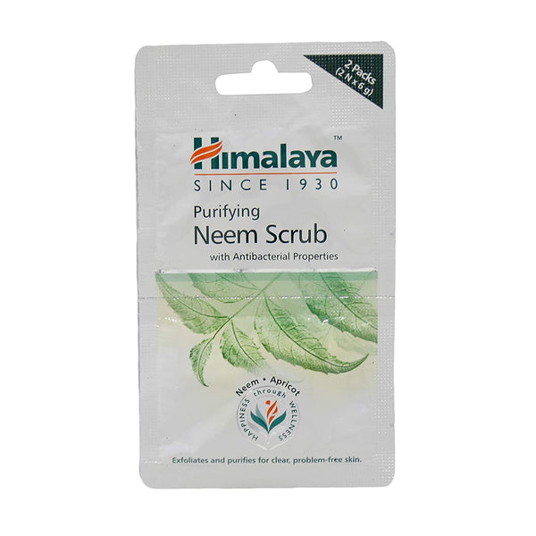 Himalaya Herbals Purifying Neem Scrub 12g (pack of 3)