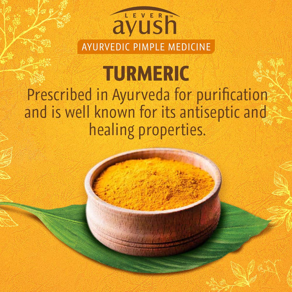 Ayush Anti Pimple Turmeric Face Wash, 80g