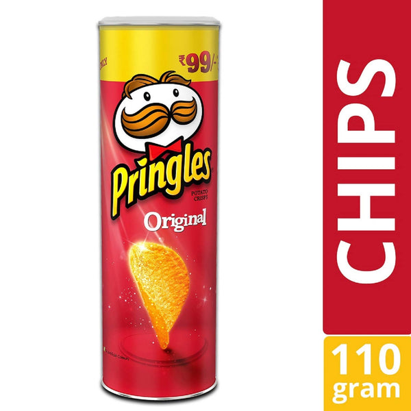 Pringles Potato Crisps Original ,110 g