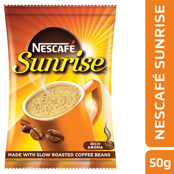 Nescafé Sunrise, Instant Coffee-Chicory Mix, 50g Pouch