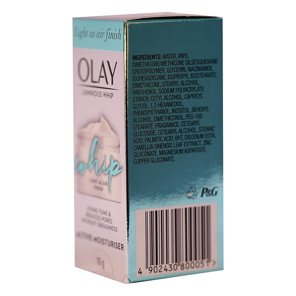 Olay Luminous Whip Face Moisturizer, 10g