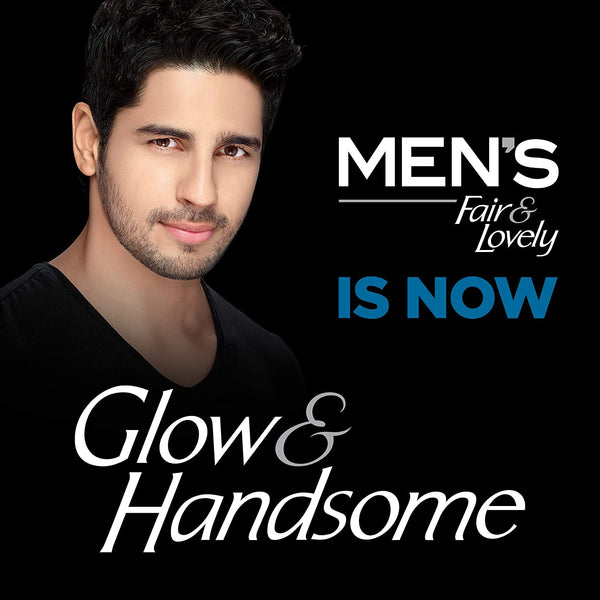 Fair & Lovely Glow & Handsome Instant Brightness Rapid Action Facewash 50g