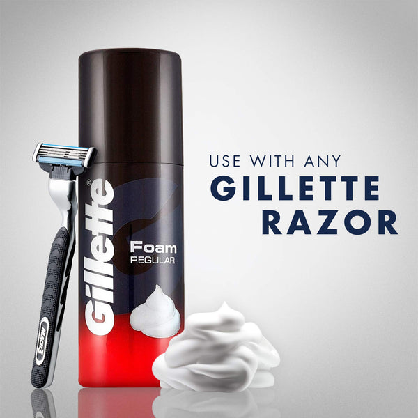 Gillette Classic Regular Pre Shave Foam - 50 g