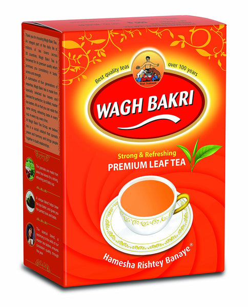 Wagh Bakri Premium Leaf Tea Carton Pack, 500g
