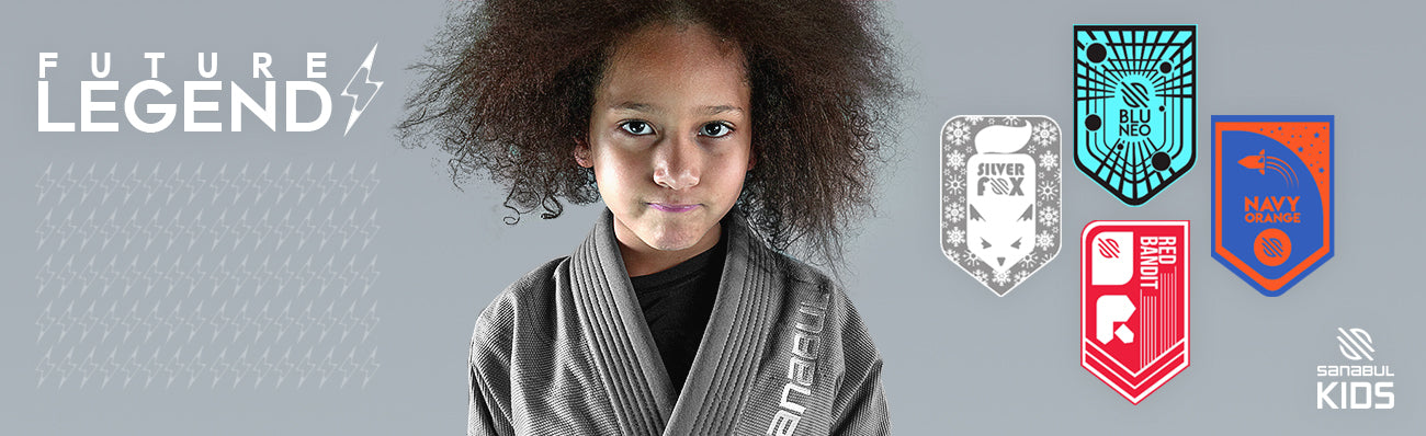 Sanabul Highlights Kids Brazilian Jiu Jitsu Gi