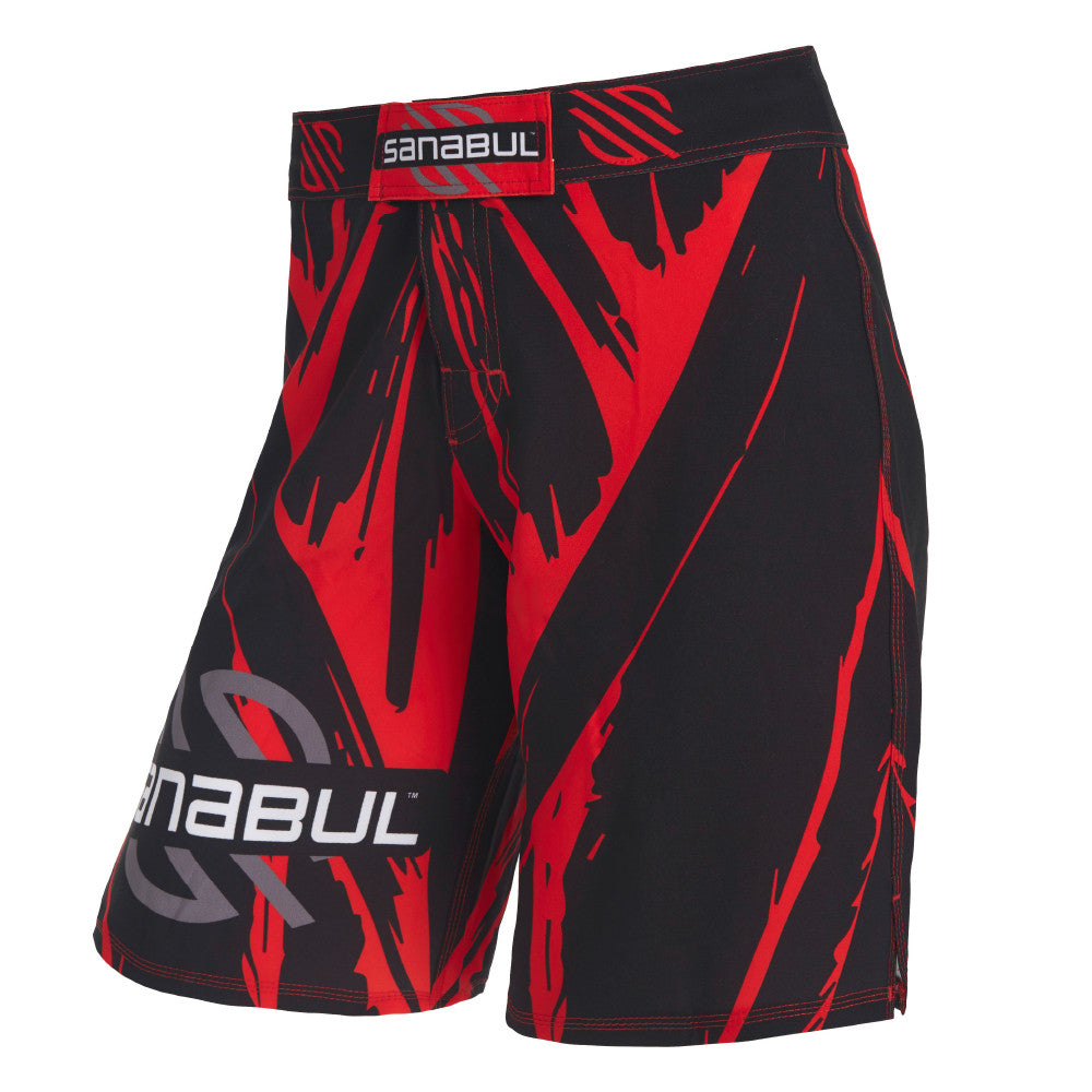 Sanabul Red Bamboo Myo Combat Shorts