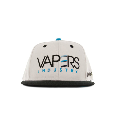 VAPERS INDUSTRY - SNAPBACK HAT - WHITE