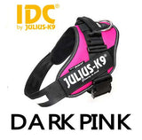 IDC dark pink Powerharness - julius k9