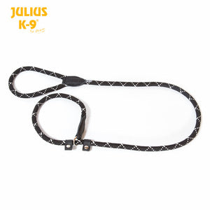 IDC Rope Retriever Dog Training Lead - Black -12mm x 1,2m - JULIUSK9® CANADA