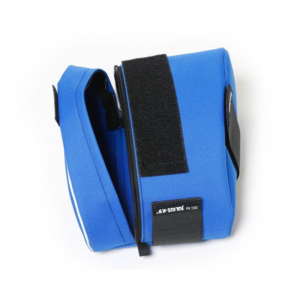 Size 1-2 Blue Saddle Sidebags for IDC Powerharnesses - - JULIUSK9® CANADA