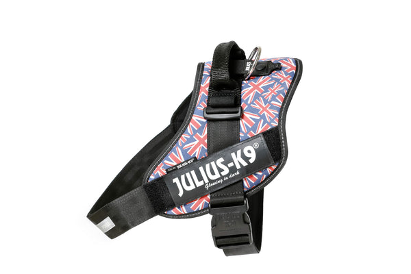IDC® Powerharness - Size 2 - UK Flag (16IDC-UK-2) - JULIUSK9® CANADA