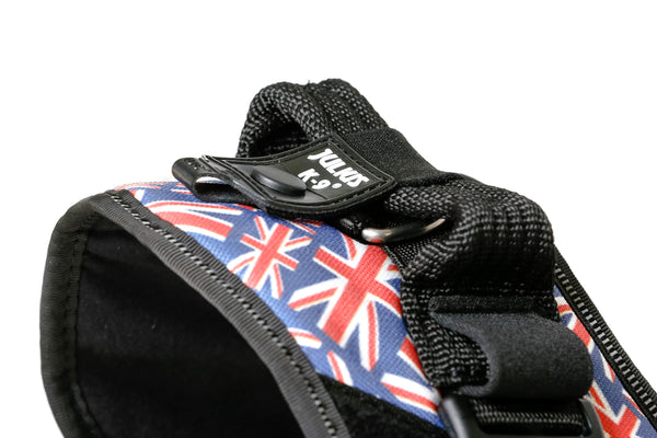 IDC® Powerharness - Size 3 - UK Flag (16IDC-UK-3) - JULIUSK9® CANADA