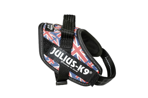 IDC® Powerharness - Size Mini - UK Flag (16IDC-UK-M) - JULIUSK9® CANADA