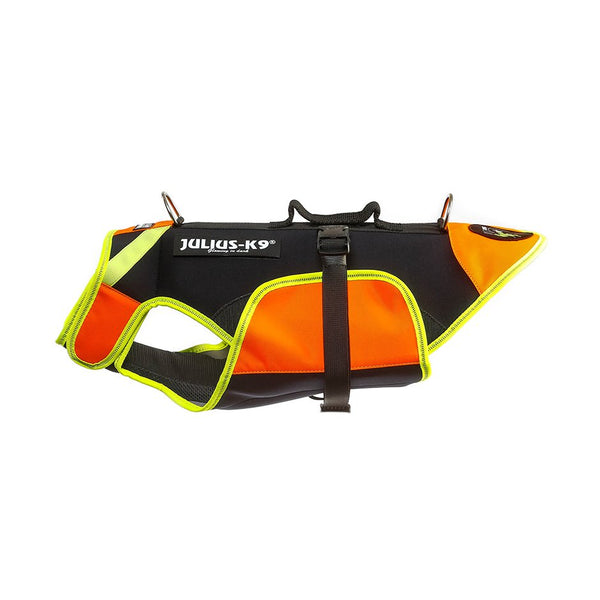 UV Orange LifeJacket - Multifunctional Dog Vest