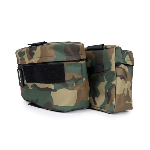Size 1-2 Saddle Sidebags for IDC Powerharnesses - Camouflage - JULIUSK9® CANADA