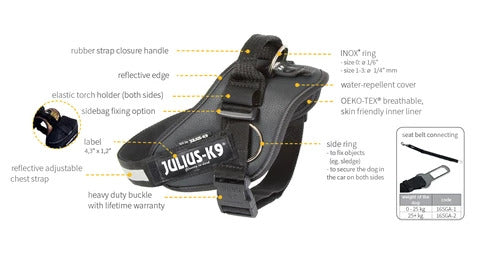 IDC® Powerharness with Side Rings