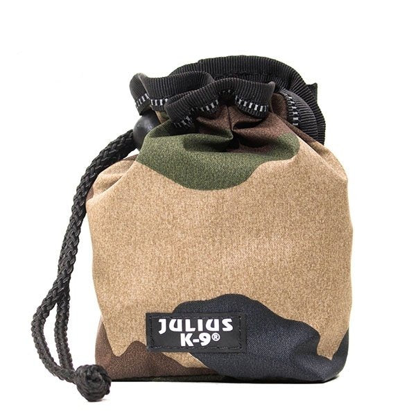 Dog Treat Pouch - Black or Camo