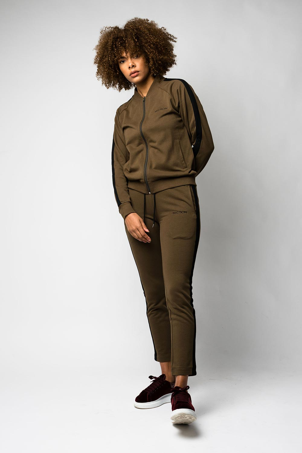 Khaki Signature Track Top