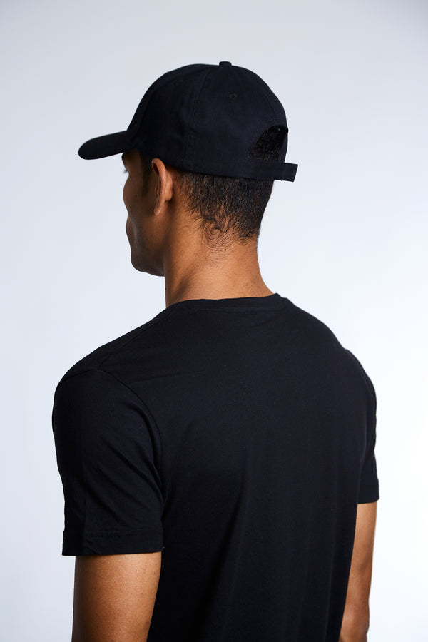 Section Pulse Distressed Hat - Black
