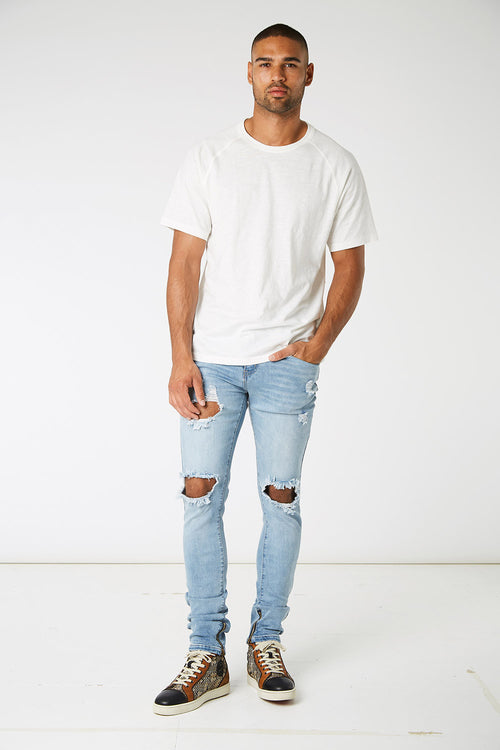 Dalli Zipped Denims
