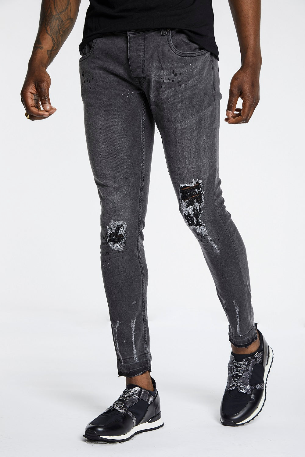 Rally Washed Skinny Jeans