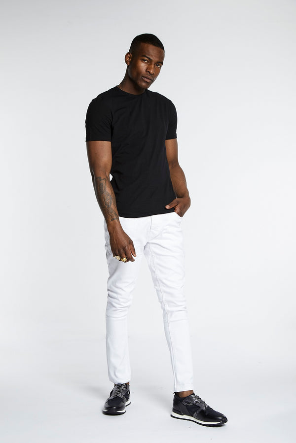 Arctic White Skinny Jeans