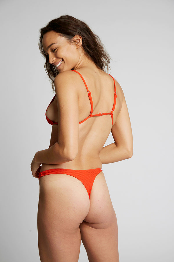 Red Triangle Bikini Bottoms X By Kady