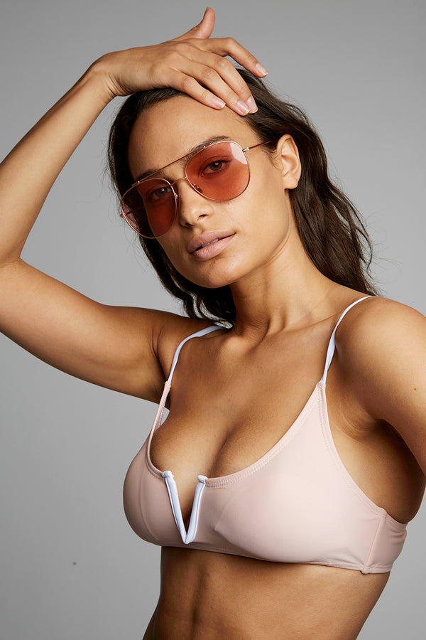Top Bar Aviator Sunglasses X By Kady