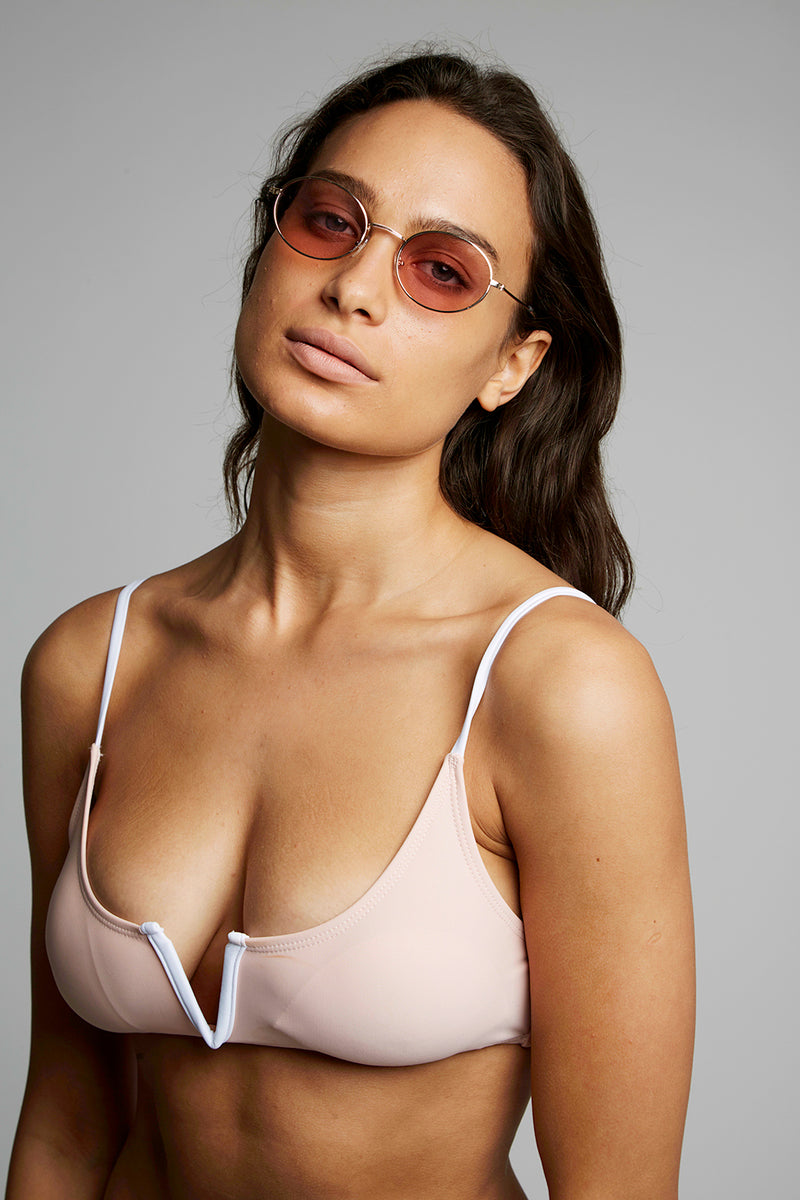 Retro Oval Shaped Sunglasses