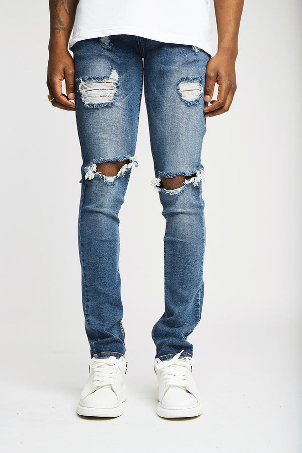 Frida Zipped Denims