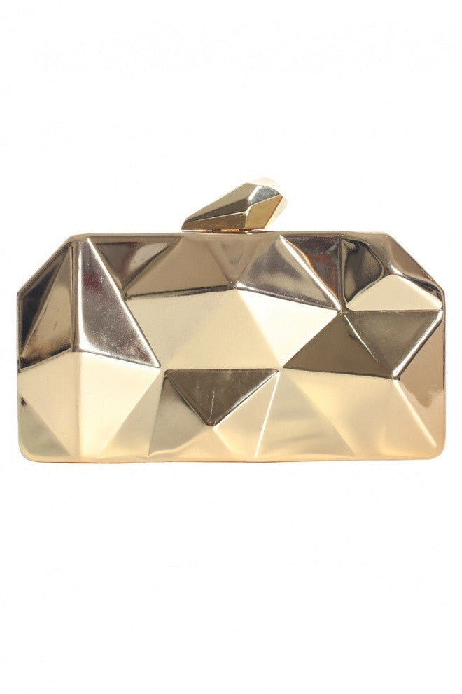 Anastasia Metallic Clutch (preorder/ 2 colours)