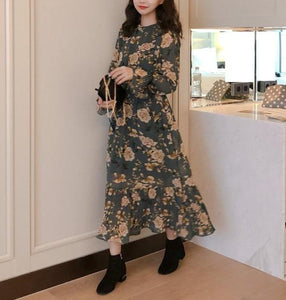 Cannes floral maxi (preorder