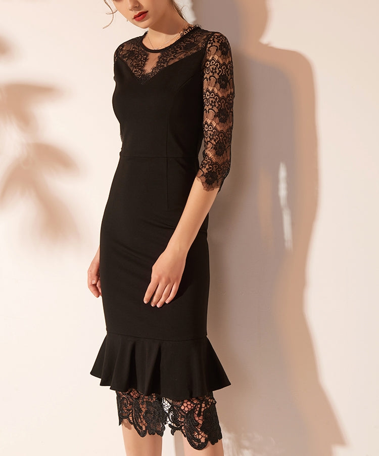 Viviane lace dress (preorder)