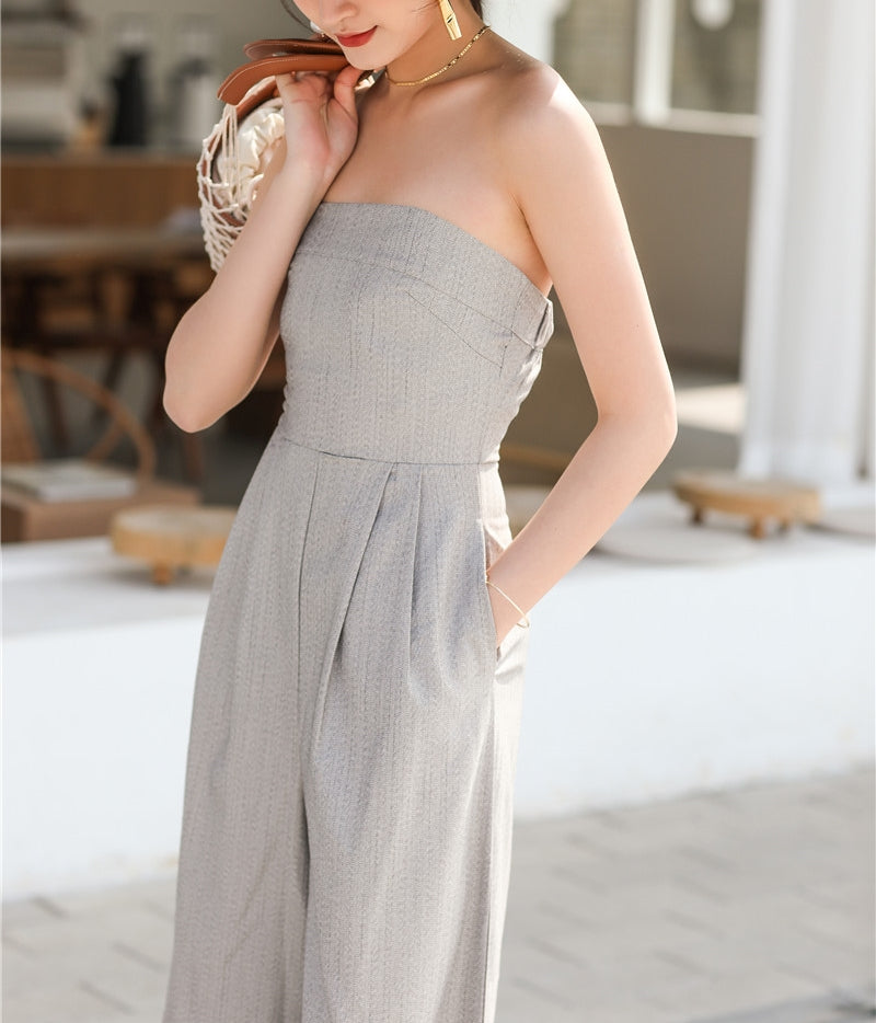 Kennedy jumpsuit (ready stock in M)