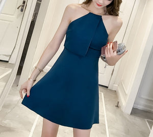 Stelly halterneck dress (preorder/ 3 colours)