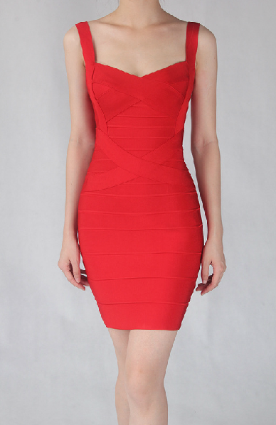 Heartline bandage dress (preorder/ 6 colours)