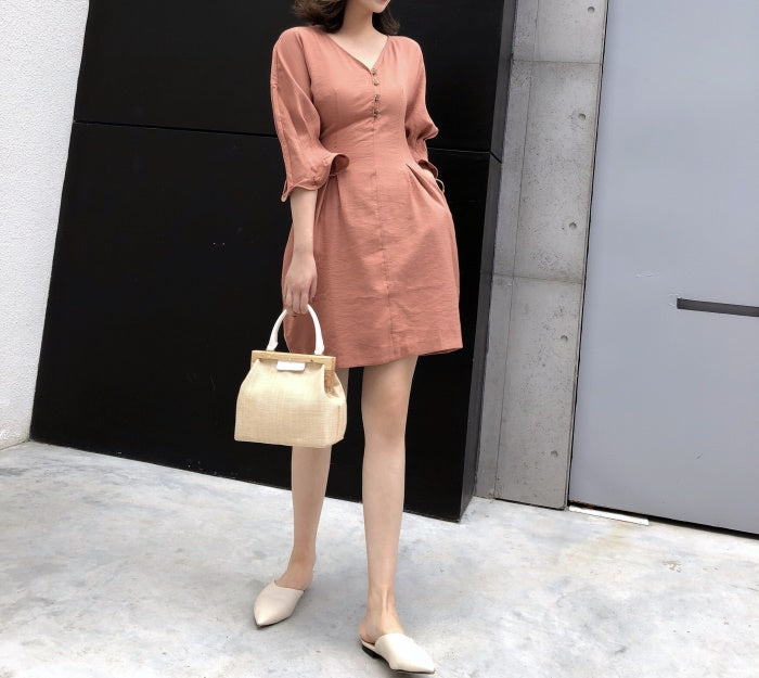 Castor dress (preorder/ 3 colours)