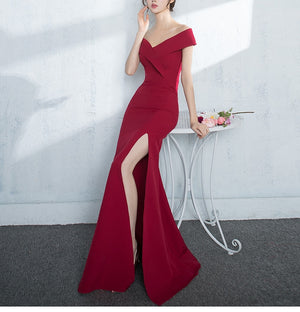 Jazzlyn gown (READY STOCK IN XS RED/2 colours)