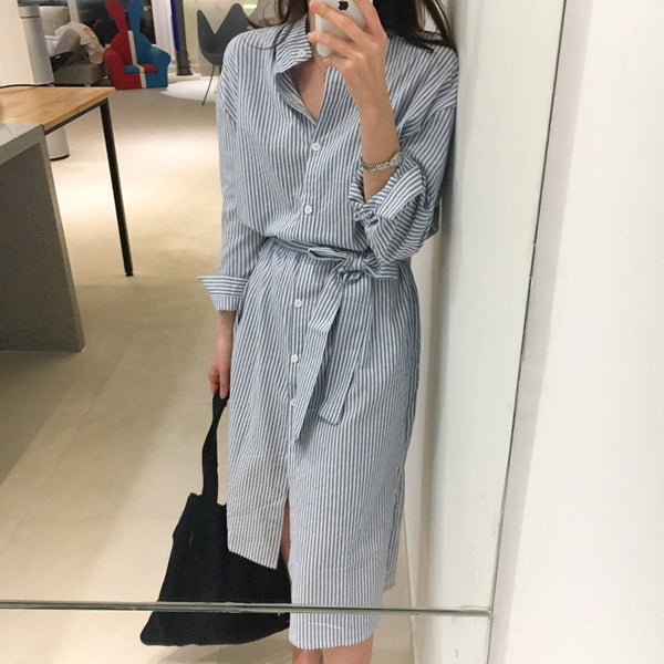 Maddie shirt dress (preorder)