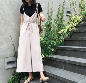 Culottes jumpsuit (preorder)