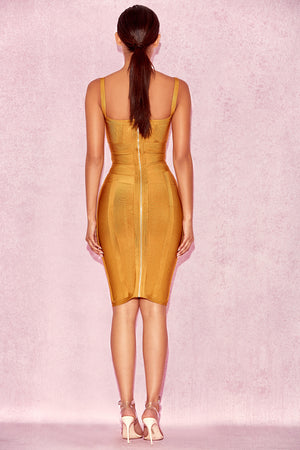 Obi wrap bandage dress (Preorder/ 4 colours)